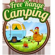 Free Range Camping Stocking Roo Paws